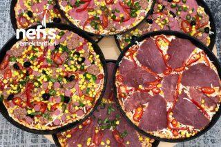 Pizzacılara Taş Çıkartan Enfes Buzluk Pizza Tarifi