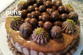 3 Katlı Bol Çikolatalı Pasta Tarifi