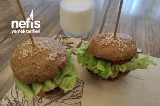 Efsane Yulaflı Diyet Hamburger Tarifi