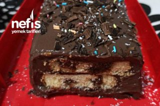 Kek Dilimli Pudingli Pasta (Çok Beğeneceksiniz) Tarifi