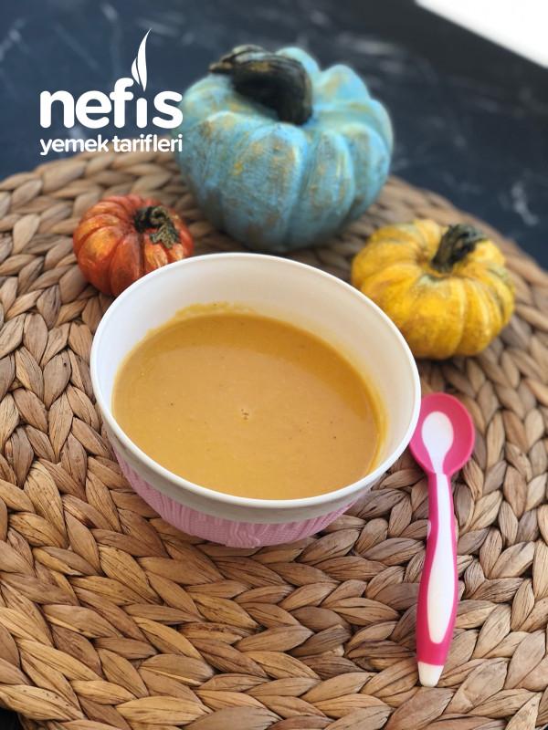 Bebekler İçin Balkabağı Çorbası (6-9 Aylık)