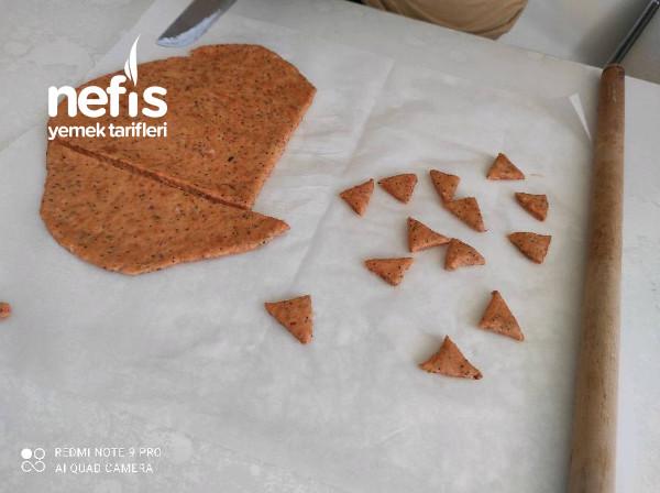 Ev Yapımı Eti Pizza Kraker