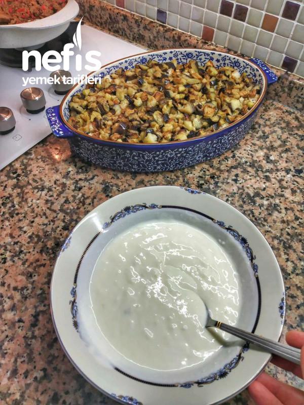 Patlıcanlı Ekmek Kebabi