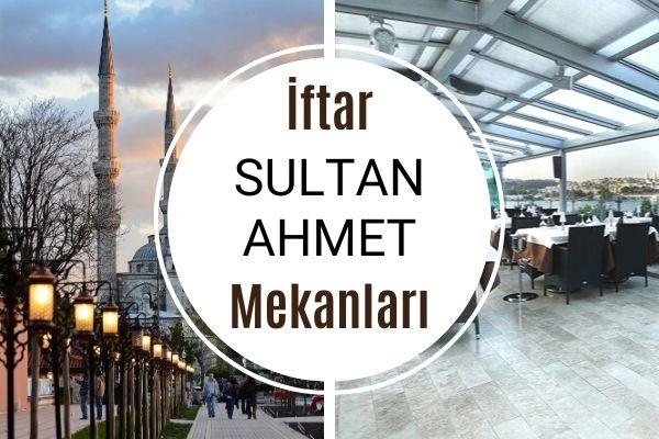 Sultanahmet Meşhur İftar Mekanları Tarifi