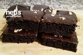 Browni Tadında Şekersiz Hurmalı Nemli Kek (Lezzeti Olay) Tarifi