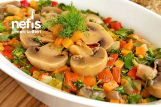 Enfes Mantar Salatası Tarifi