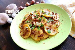 Karamelize Soğanlı Ve Baharatlı Lokum Gibi Fırın Patates Tarifi