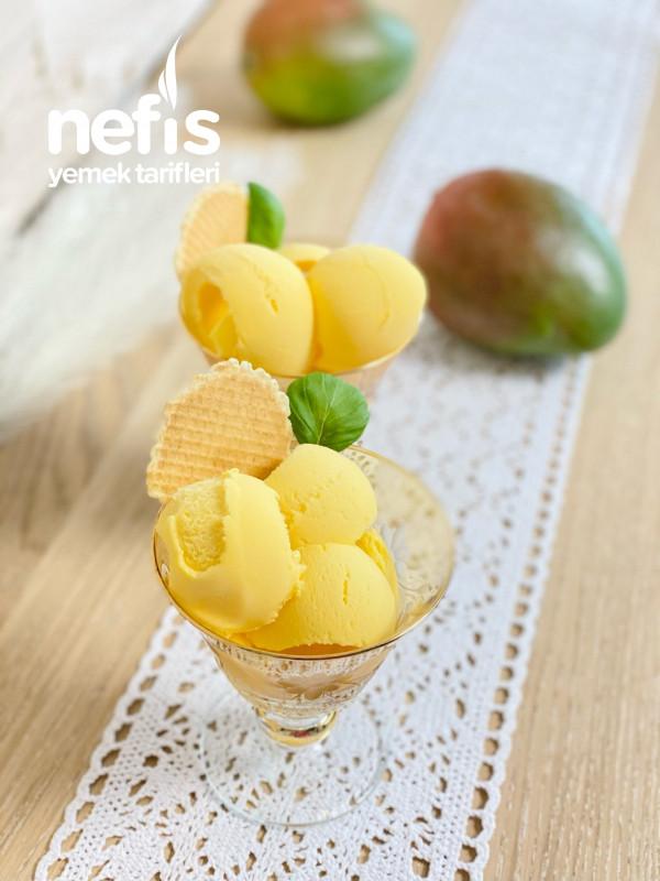 Mangolu Dondurma