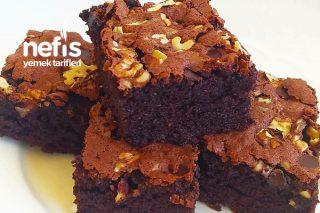 Cevizli Çikolatalı Tepsi Keki Tarifi