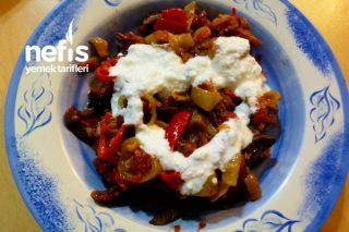 Muhteşem Kuru Patlıcan Salatası Tarifi