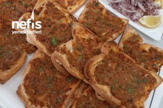 Tost Ekmeğinden Lahmacun Tarifi