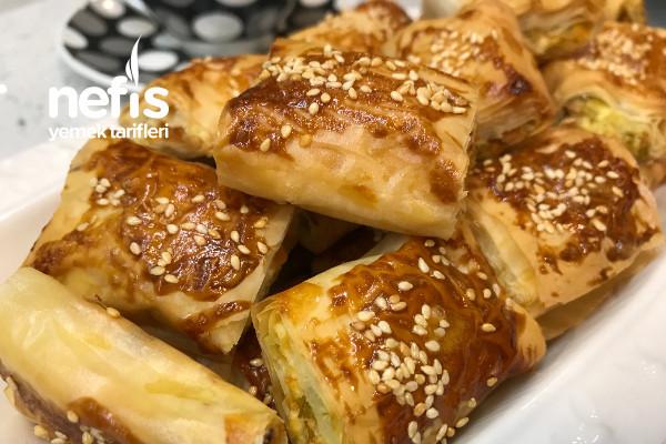 Baklava Yufkasında Sebzeli Börek Videolu
