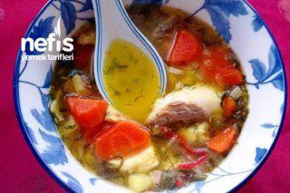 Balık Çorbası (Safranlı) Tarifi