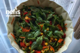 Kırmızı Biber Turşulu Semizotu Salatası Tarifi