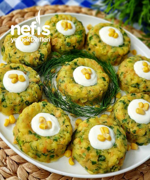 Patatesli Ezme Salata(nefis Lezzet)
