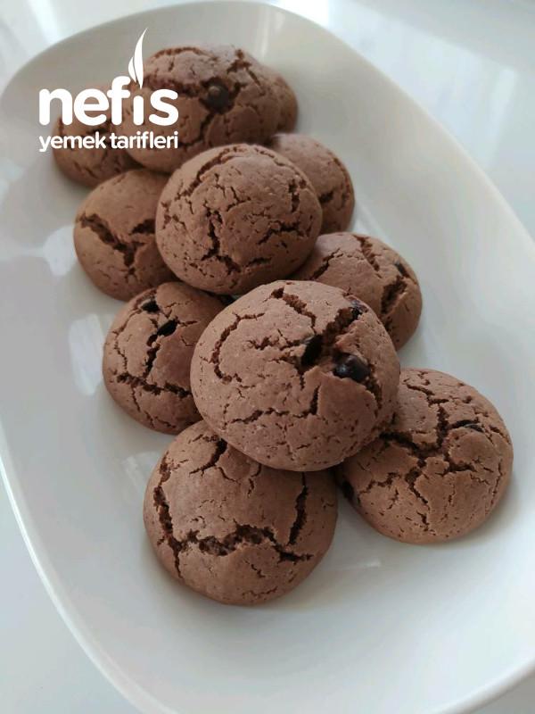 Sıvı Yağlı Kakaolu Muhteşem Kurabiye