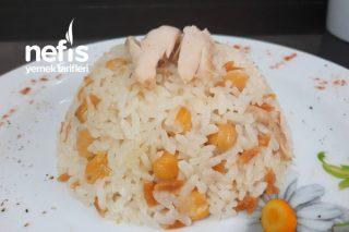 Tane Tane Tavuklu Nohutlu Pirinç Pilavı Tarifi (Videolu)
