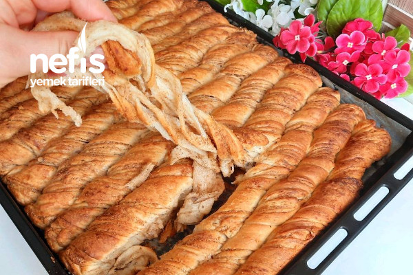 Tel Tel Lezzeti Efsane Haşhaşlı Çörek (Kolay Yöntemle) Videolu