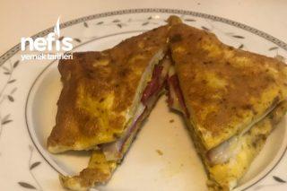 Yumurtalı Pratik Sandviç Tarifi