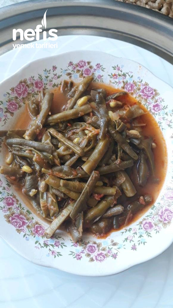 Dondurucudan Taze Fasulye (Pişirme Tarifi)
