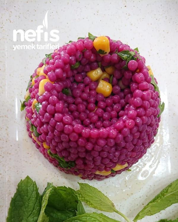 Görsel Şölen Kuskus Salatası