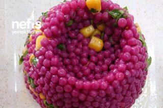 Görsel Şölen Kuskus Salatası Tarifi