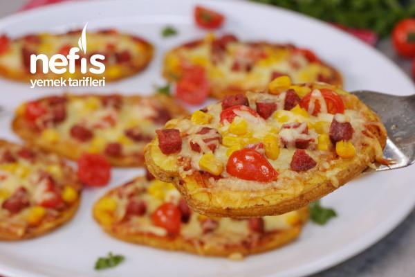 Hamursuz Efsane Patates Pizzası Tarifi (videolu)