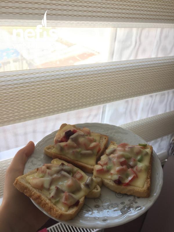 Kahvaltılık Mini Pizza