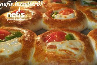 Muhteşem Lezzetli Kahvaltılık Mini Peynirli Poğaçalar Tarifi