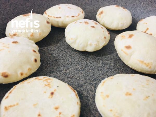 Porsiyonluk, Minik Mayasız Balon Bazlama  (Şipşak Ekmek)