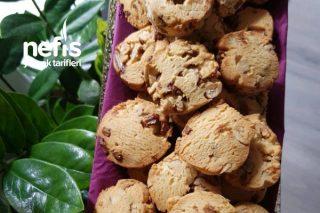 Çikolatalı Cevizli Kurabiye (Cookies) Tarifi