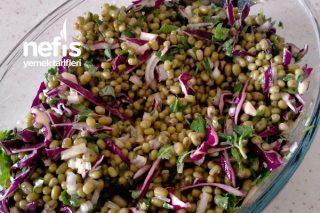 Maş Fasulyesi Salatası ( 2 Kişilik Tarifler) Tarifi