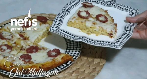 Sahur İçin Patates Pizza