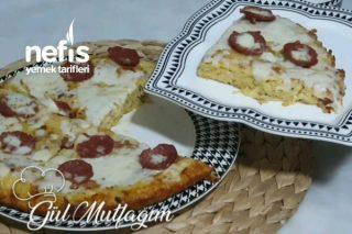 Sahur İçin Patates Pizza (Videolu) Tarifi