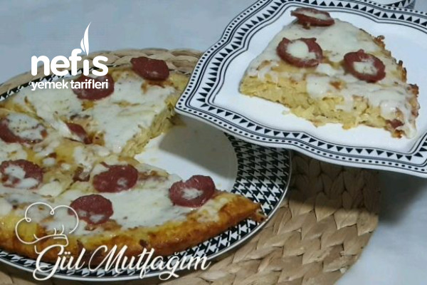 Sahur İçin Patates Pizza (Videolu)