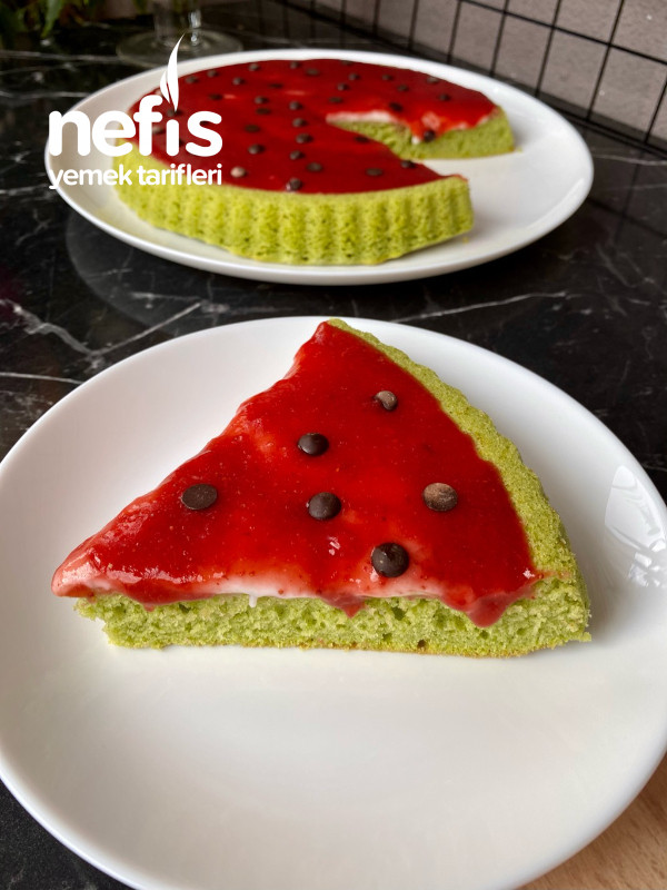 Sütsüz Ispanaklı Kek