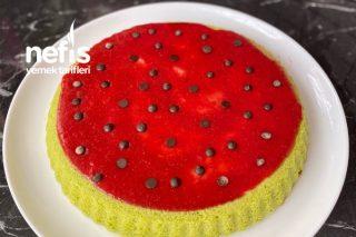 Sütsüz Ispanaklı Kek Tarifi
