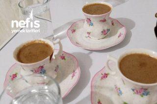 Çikolata Soslu Türk Kahvesi Tarifi