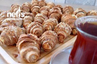 Çıtır Haşhaşlı Tahinli Börekler 5 Dakikada Tarifi