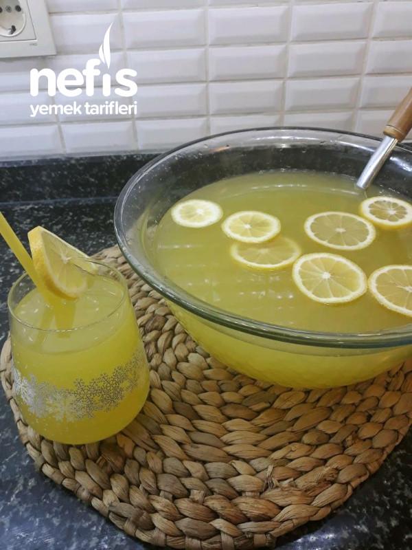 Ev Yapımı Buzluk Limonata