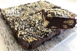 İftar Sonrası İçin 5 Dakika Pastası! (Kedidili Bisküvili Mozaik Pasta) (Videolu) Tarifi