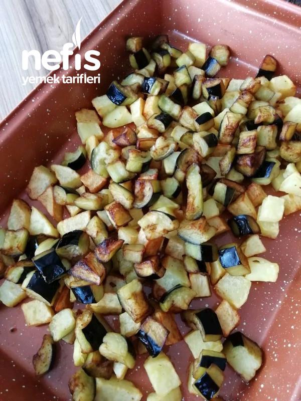 Köfteli Patlıcan Oturtma