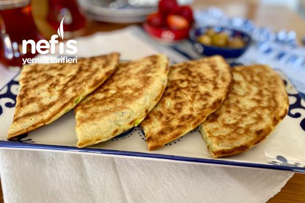 Mücver Tadında Tava Böreği (10 Dakikada Hazır)