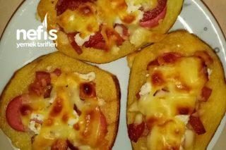 Patates Pizzası (Hamur Açmaya Son) Tarifi