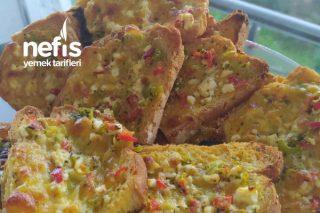 Pratik Ekmek Pizza Tarifi