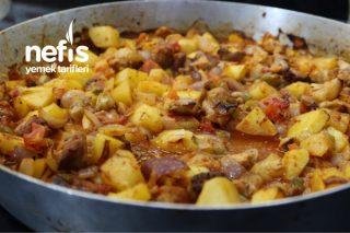 Pratik Tavuk Ve Patates Tavası Tarifi