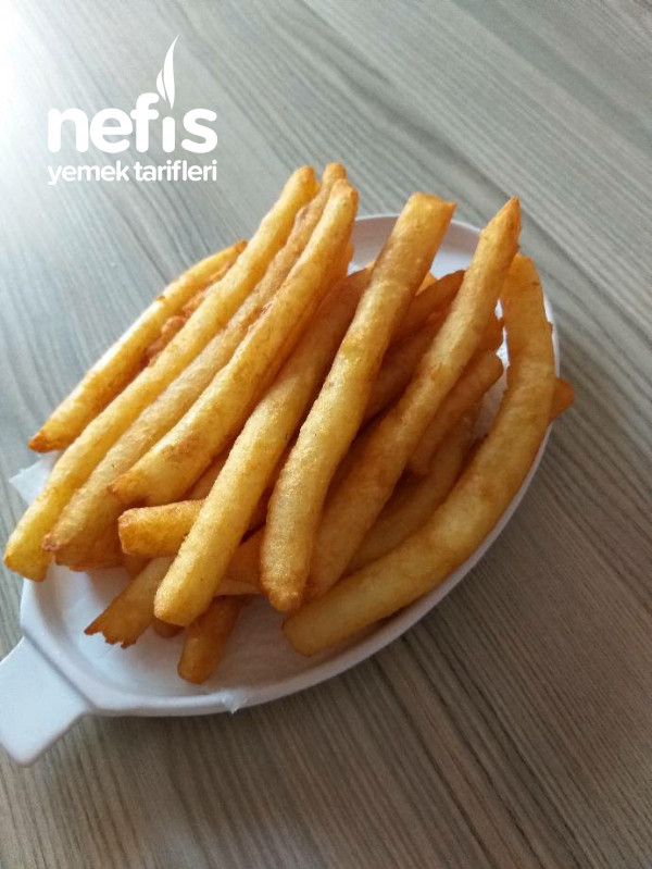 3 Malzemeyle Patates Cipsi (bu Lezzete Bayılacaksınız)