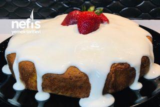 Çilekli Kremalı Kek Tarifi