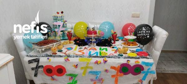 Doğum Günü Masası
