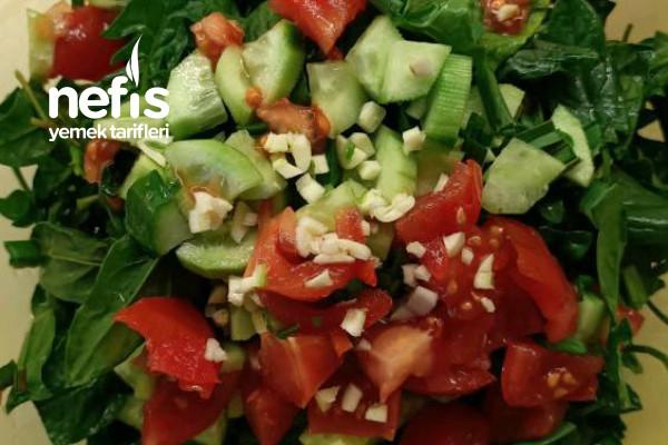 Ispanak Salatasi Dusuk Kalorili